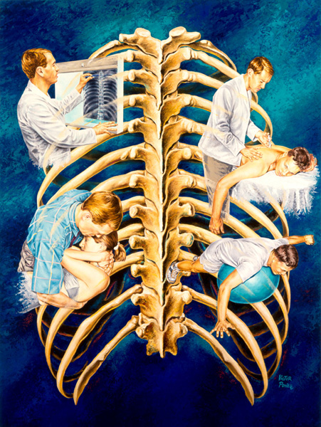 Thoracic Spine and Ribcage
