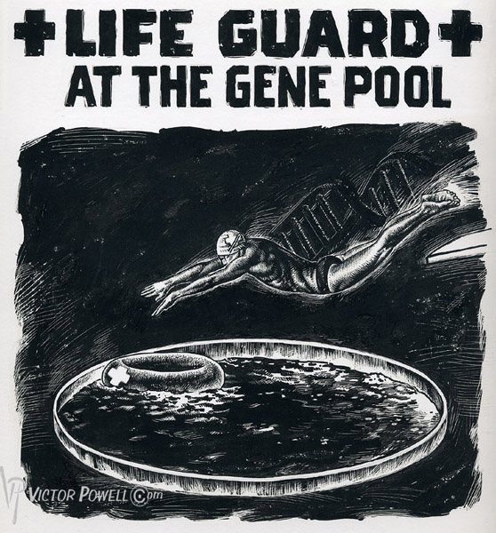 Life Guard at the Gene Pool