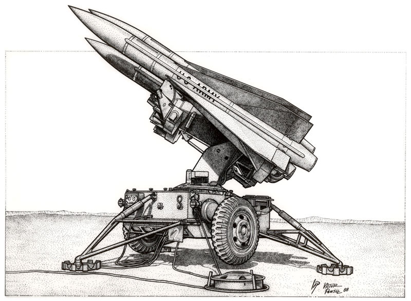 Hawk Missle System Shaded